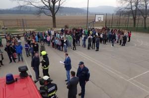 21.3.2016 Evakuacija Osnovne šole Vodice