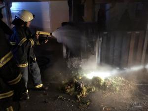27.10.2018 Intervencija – požar elektro omarice