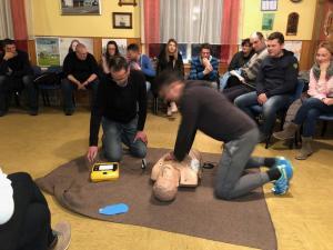 23.1.2019 Tečaj uporabe DEFIBRILATORJA (AED)