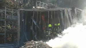 23.3.2019 Požar na deponiji pri Benku v Repnjah