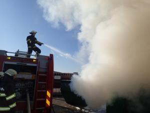 28.12 Intervencija-Požar komunalnega zabojnika
