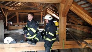 15.4.2021 Intervencija dimniški požar