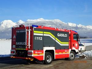 Novo gasilsko vozilo GVC 24/50, PGD Vodice