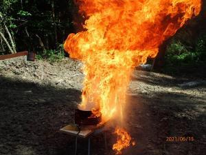 15.6.2021 Predstavitev kuhinjskega požara