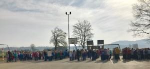 20.3.2017 Evakuacija v OŠ Vodice